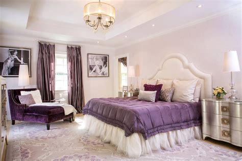 Purple And White Bedroom Decor Ideas by Glamorous Bedrooms For Some Weekend Eye