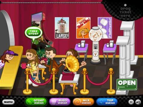 jeux de cuisine papa louie pancakeria papa 39 s freezeria hd pour android à télécharger
