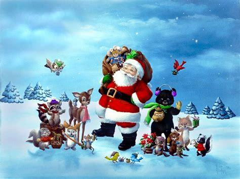 Christmas Santa Claus Wallpaper Hd Pictures