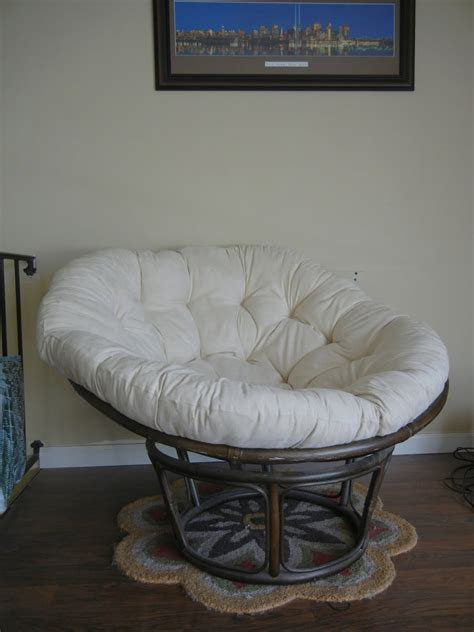Papasan Swing Chair Pier One by For Sale
