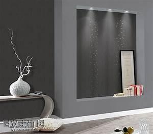 tapete wohnzimmer anthrazit mobelideen With balkon teppich mit elegante tapeten