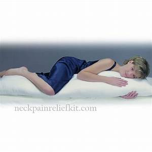 neck pillow cervical support pillow pillow for neck With body pillow for neck and back pain
