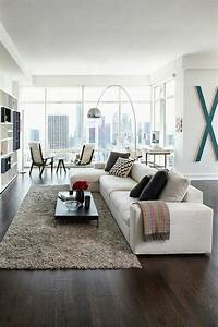 17 meilleures idees a propos de salons rectangulaire sur With tapis chambre bébé avec canape angle salon