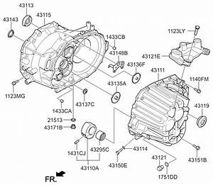 2011 Kia Optima Korean Made Transaxle Case-manual