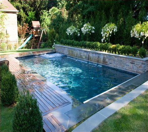 Backyard Swimming Pool by Small Inground Pools For Small Yards Awesome Inground