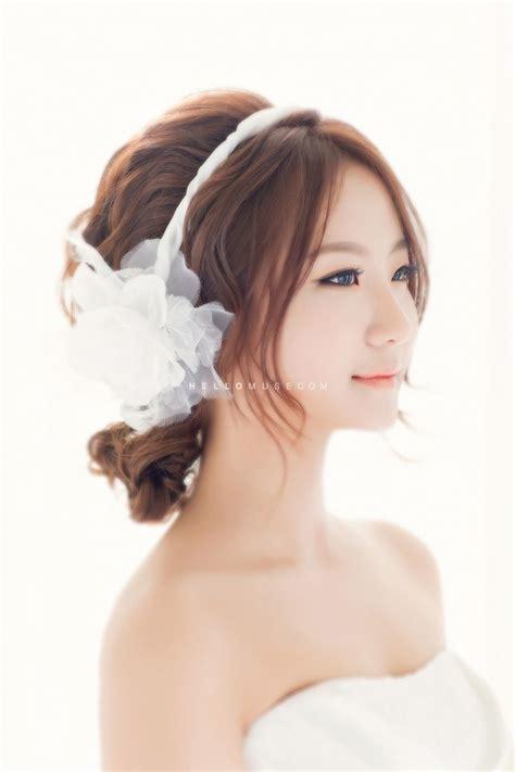 korea hair style korea pre wedding photo make up and hair korean style 7986