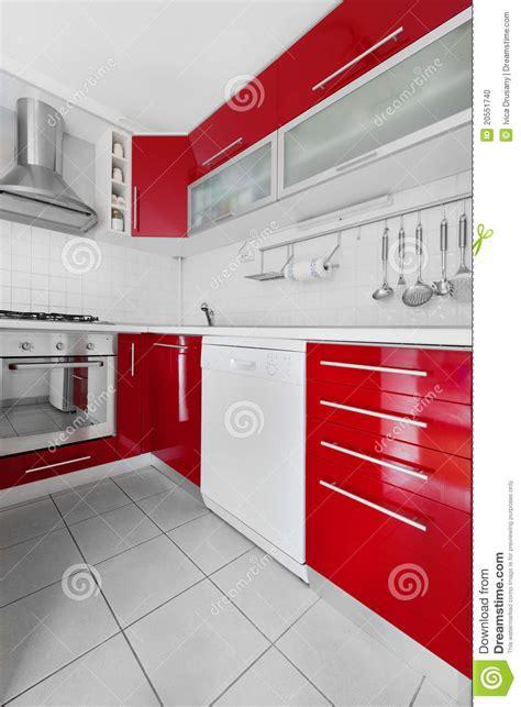 cuisine a et z cuisine et blanche moderne photo stock image 20551740
