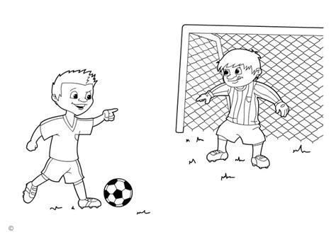 Goal Kleurplaat by Coloring Page Penalty Img 26137 Images