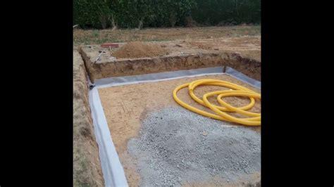 pr 233 paration drainage piscine hors sol gardipool octo 1 5