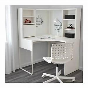 Mobilier De Bureau Ikea : bureau d 39 angle blanc ikea achat vente de mobilier rakuten ~ Dode.kayakingforconservation.com Idées de Décoration