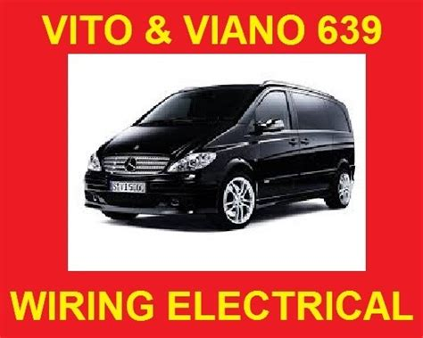 mercedes vito viano 639 wiring electrical syste