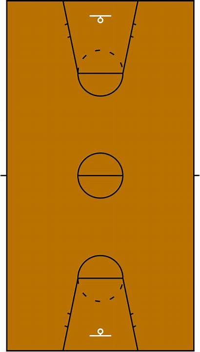 Svg Basketball Court 1964 Pixels Wikimedia Commons