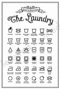 7 best images of printable laundry care symbols sheet With clothing label symbols