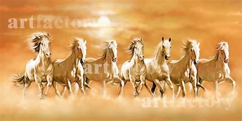 Seven Horse Painting