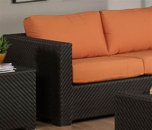 Outdoor patio replacement deep seat cushion cover set made for Outdoor furniture cushion cover material
