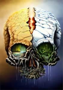Nature Skull Art