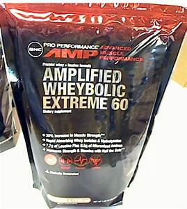 Gnc Amplified Wheybolic Extreme 60 Supplement Powder Cookies  U0026 Cream 1 22 Lb New