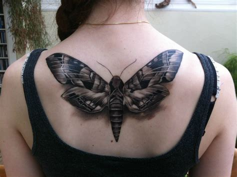 huge moth  tattoojpg