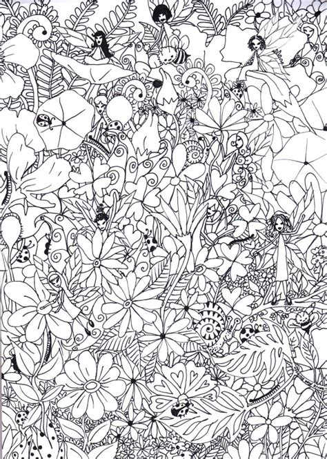garden colouring page luhur hati