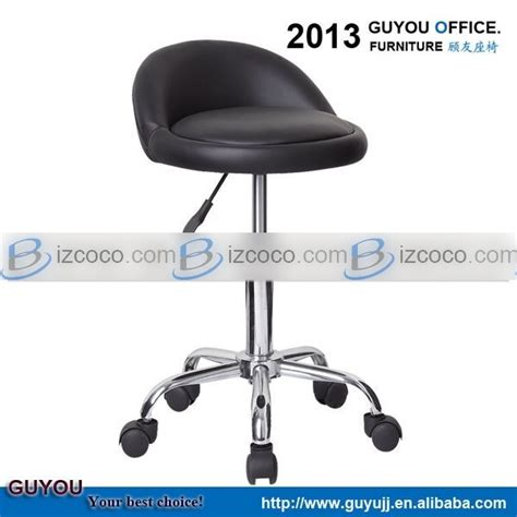 pu leather bar stool with wheels china manufacturer