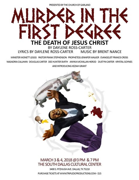 Murder in the First Degree: The Death of Jesus Christ ...