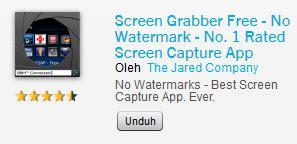 téléchargement gratuit aplikasi screen grabber bb