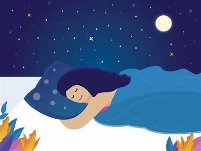 Sleeping Illustration Dribbble Graphic Character