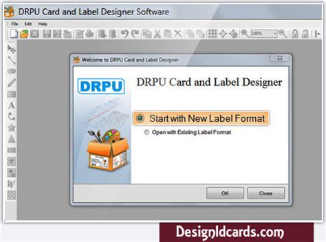 design cards  labels software card maker program