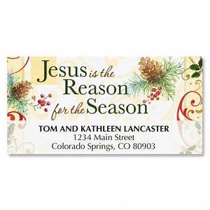 jesus is the reason matching labels current catalog With christmas cards with matching address labels
