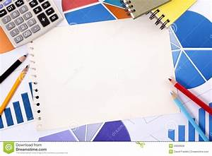 Financial Accounting Background Copy Space Stock Photo ...