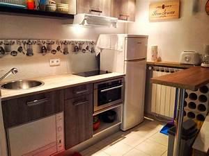 cuisines With amenagement cuisine espace reduit
