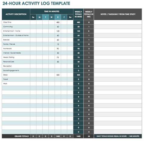 time management worksheets smartsheet