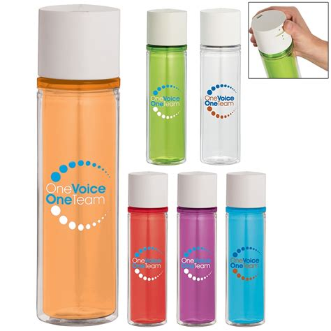 The biggest source of free photorealistic bottle mockups online! Promotional 22 oz Revolution BPA Free Double-Wall Sport ...