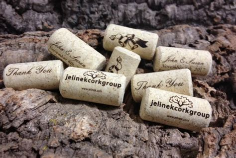 Custom Printed Personalized Wine Corks   Bag of 150 wine