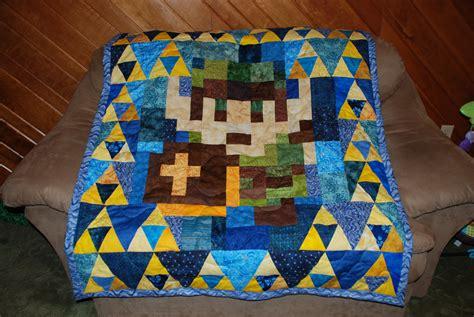 Legend Of Zelda Link Quilt