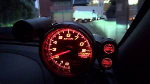 Tachometer Warning Lights