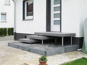 Hauseingang Treppe Modern : betonpodest aulico betonstufen passgenaue ma e f r ihren hauseingang betont beton ~ Yasmunasinghe.com Haus und Dekorationen