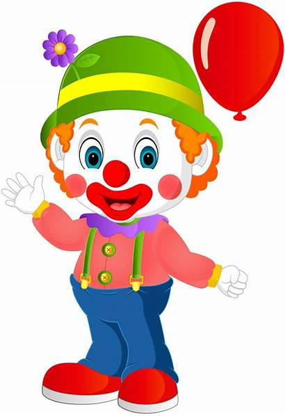 Clipart Clown Birthday Saint Nicholas Clip Transparent