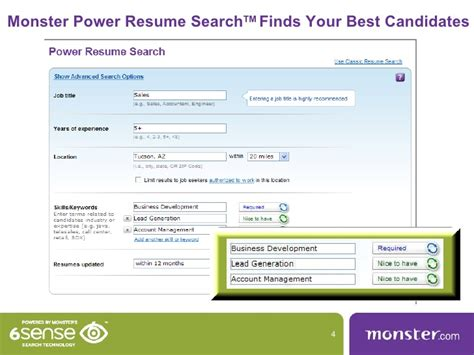 Resume Search by Power Resume Search
