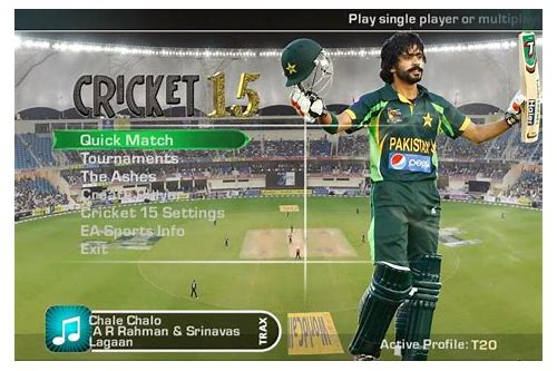 free downloading cricket games for windows 7