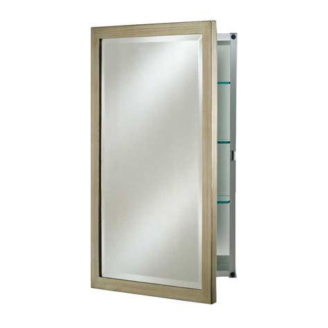 afina medicine cabinet deals afina basix 20 quot mirrored medicine cabinet brushed silver