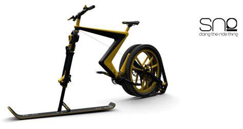 Industrial Design Le by 171 Sno 187 Le Snow Bike Futuriste De Dingue Pour D 233 Valer