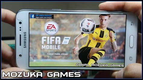 fifa mobile futebol gameplay 1 novo fifa 17 mobile eu joguei fifa 17 de celular