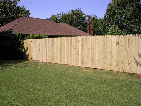Privacy Fence 4x4 Wood Post