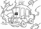 Ambulance Coloring Cartoon Pages Printable Oloring Popular Getcoloringpages Helicopter Categories Vehicles sketch template