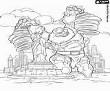 Thor Colorear Colorir Statue Coloriage Statua Colorare Estatua Libertad Desenhos Desenho Wolności Malvorlagen Pintar Koloss Liberty Disegni Coloso Ragnarok Ausmalbilder sketch template