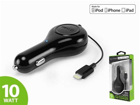 iphone 6 car charger apple iphone 6 cellet apple certified retractable car