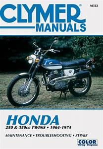 Honda 250  U0026 350 Cc Twins Motorcycle  1964