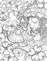 Coloring Fairy Printable Adults Adult Fairies Disney Colouring Skyline Getdrawings Getcolorings Exelent York sketch template