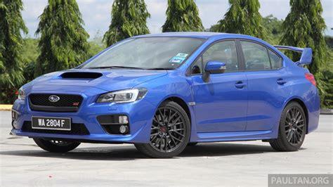 subaru cars prices gst subaru updates prices decrease of up to rm12k